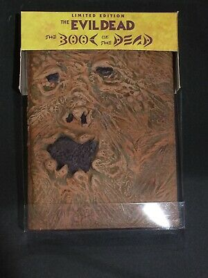 EVIL DEAD Book of the Dead DVD 2002 Limited Edition NECRONOMICON Bruce Campbell