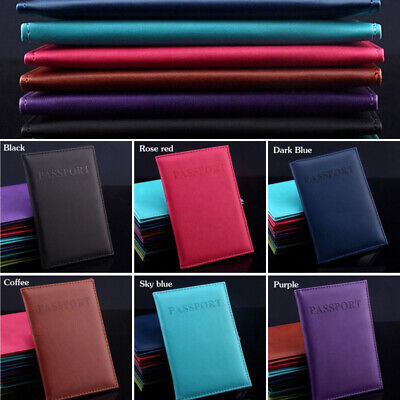 Hot Travel Passport Holder Cover New Useful Card Organizer PU Leather Bag Wallet