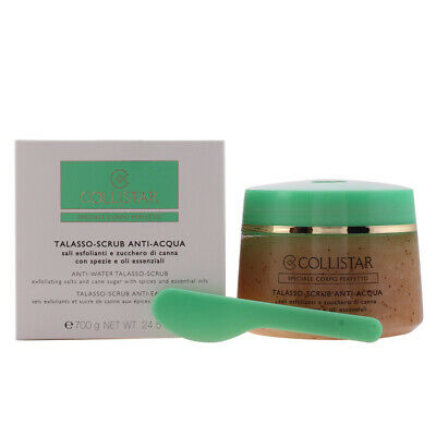 Cosmética Collistar mujer PERFECT BODY anti-water talasso scrub 700 gr