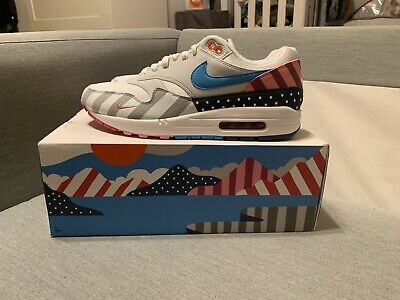 NIKE AIR MAX 1 Parra Friends & Family Size 7.5 [F&F One