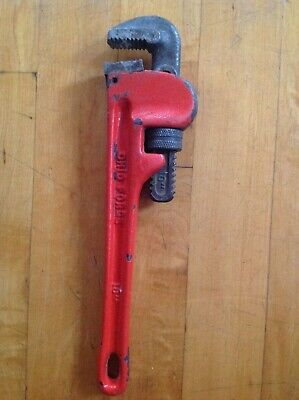 """Ohio Forge 10"""" Plumbers Tool Monkey Wrench Pipe Gripper  + Tech Spec"""