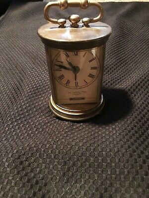 Brass Table/Desk Clock Made In India