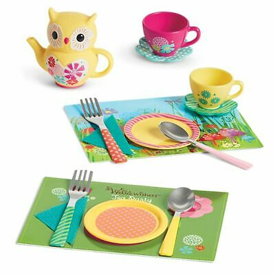 American Girl Wellie Wishers Tea for Two Party Set. New in Original packaging.