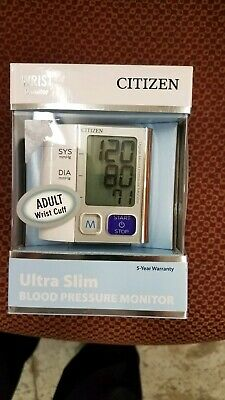 Veridian Citizen Ultra-Slim Wrist Digital Blood Pressure Monitor Ch-657