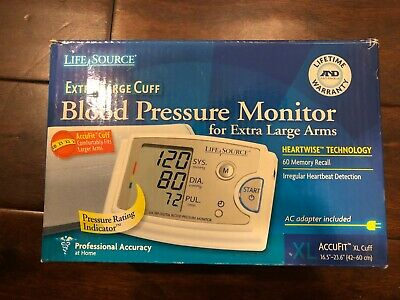 LifeSource UA-789 Quick Response Blood Pressure Monitor Easy Fit Cuff Adult XL
