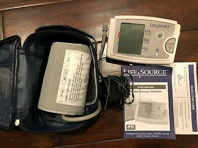 LifeSource UA-789 Quick Response Blood Pressure Monitor Easy Fit Cuff Adult NICE