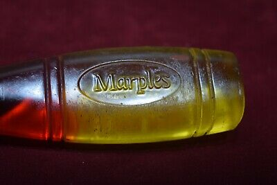 Vintage Marples 19mm Yellow/Red Resin Handle Bevel Edge Chisel Old Tool