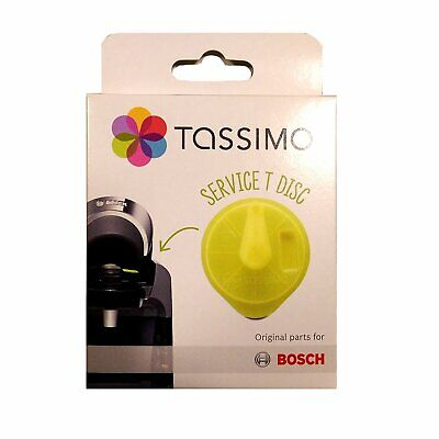 2 x Bosch 621101 Yellow Service T-Disc for Tassimo T20/T40/T65/T85