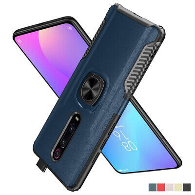 Heavy Duty Shockproof Case Cover for Xiaomi Mi 9T A3 Matte Bumper Magnetic Ring
