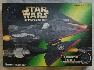 Star Wars The Power Of The Force Galactic Empire Cruisemissile Item No 69653