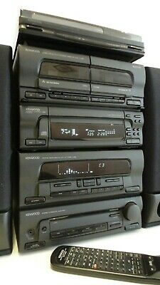 Kenwood UD-351M 7x CD,Tape,Tuner, Amp + Turntable + Bluetooth