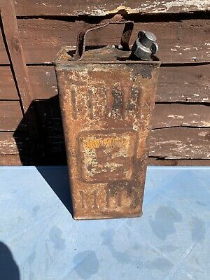 Vintage French Fuel Petrol Can