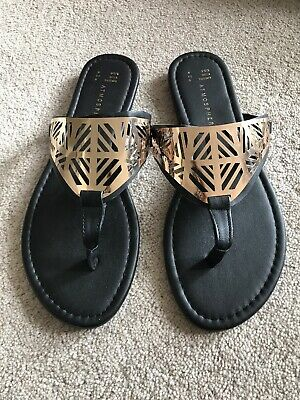 R4B Leather Collection Ladies Leather Mule Sandals F1R0330 Black or Navy