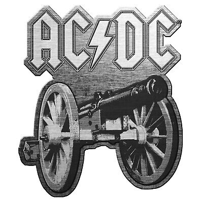 AC/DC For Those About To Rock Metal Pin Button Badge Official Rock Band Merch
