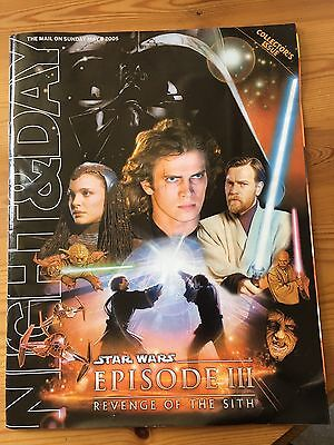 Night & Day 8 May 2005 - Star Wars Revenge Of The Sith Collectors Supplement