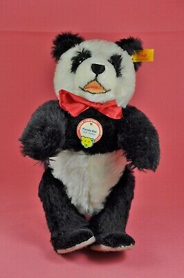 Steiff Teddy Bär / Bear Panda - 1938 Replica, 408304, KFS / all IDs, 29 cm