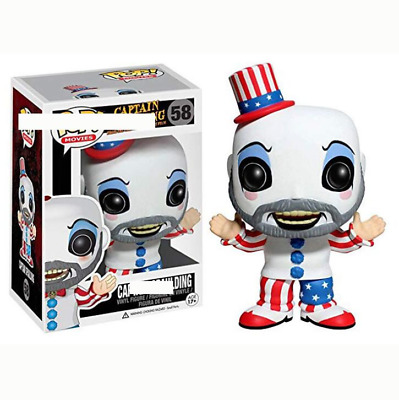 FUNKO POP Movie House of 1000 Corpses PVC Captain Spoulding Action Figures Colle
