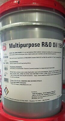 Phillips 66 MP R&O Oil 150; Circulating Oil; Mobil DTE Extra Heavy Equiv; 5 Gals