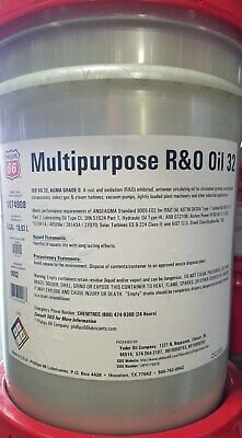 Phillips 66 MP R&O Oil 32; Circulating Oil; Mobil DTE Light Equivalent; 5 Gals