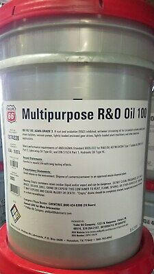 Phillips 66 MP R&O Oil 100; Circulating Oil; Mobil DTE Heavy Equivalent; 5 Gals