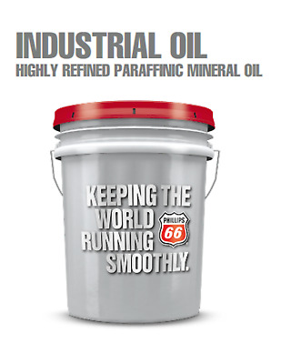 Phillips 66 Industrial Oil 2500;Highly Refined Paraffinic Mineral Oil;5 Gal Pail
