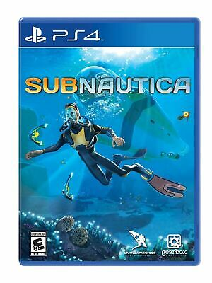 Subnautica For Playstation 4