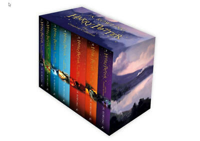 Harry Potter Box Set:The Complete Collection(Children's Paperback)-Oct 9 2014