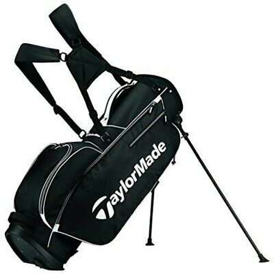 TaylorMade 2017 5.0 stand bag caddy bag black white US model 888167571010