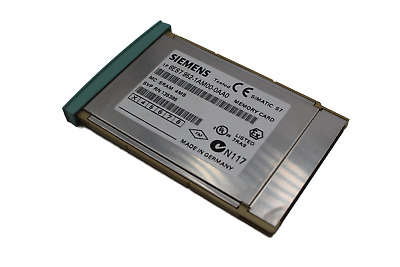 Siemens 6ES7 952-1AM00-0AA0 Simatic S7 Memory Card SRAM 4MB E-Stand: 03