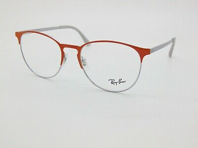 Details about NEW RAY BAN RB 6375 2949 ORANGE EYEGLASSES AUTHENTIC FRAME RX RB6375 51 18