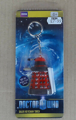BBC Doctor Who - Dalek Keychain Torch - mint in packet / never opened