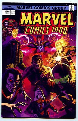 Marvel Comics #1000 (2019) Marvel NM/NM- Greg Smallwood 70's Variant
