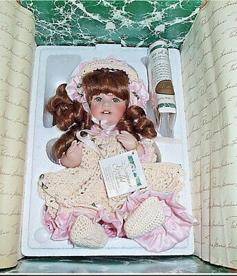 Antique Reproduction J. D. K 237 Hilda Patricia Loveless Porcelain Doll New Nrfb