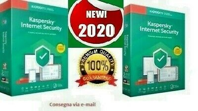 Kaspersky Internet security , 1 PC, 1 Anno, originale (invio via Email)