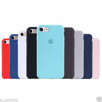Genuine Original Silicone Case Cover For Apple iPhone XS MAX XR 5S SE 6s 7 8Plus