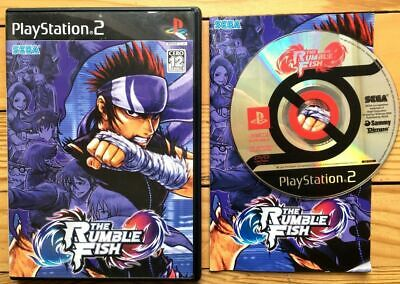 Rare The Rumble Fish Complet Boîte Notice Ps2 Ntsc Japanese Cib Ovp Jeu Game