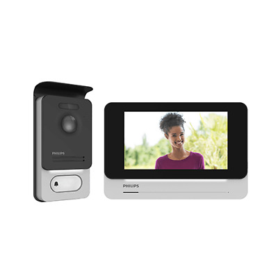 "PHILIPS WelcomeEye Touch DES 9700VDP Videoportero 7"" Tactil Alta Calidad Resoluc"