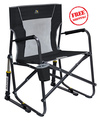 Enjoyable Gci Outdoor Freestyle Rocker Portable Folding Rocking Chair Caraccident5 Cool Chair Designs And Ideas Caraccident5Info