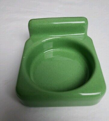 Vintage Green Porcelain Ceramic Bathroom Fixture Wall Mount Cup Holder