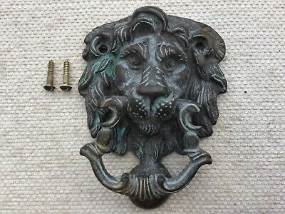 Door knocker vintage reclaimed brass Georgian style door knocker FREE POST