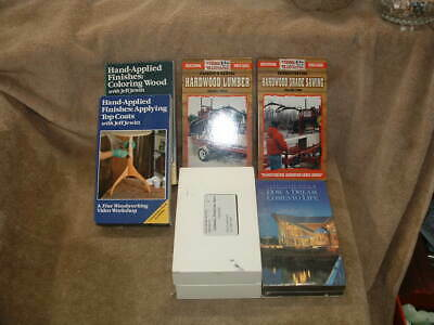 Woodmizer Lumber Grading Grade Sawing & Wood Finishing Vhs Video Tapes