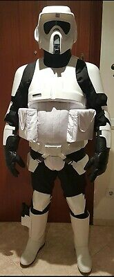 star wars armor biker scout prop armour helmet costume lifesize cosplay casco
