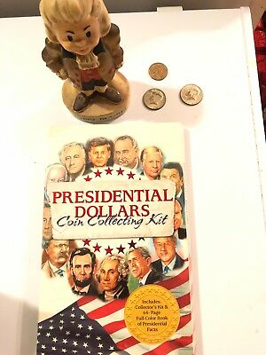 President Collecting Kit, Kennedy 1967 Half Dollars, Sacajawea Coin Junk Drawer