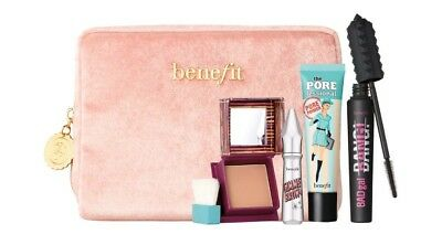 Benefit Sweeten Up Buttercup Gift Set, Hoola, Gimme Brow, Porefessional, Badgal