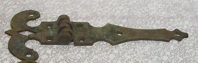 "Vintage Heavy Duty Solid Brass 8"" Decorative Hinge"