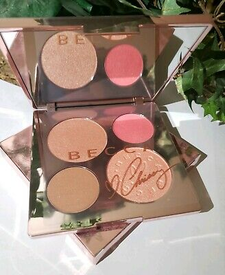 BECCA X Chrissy Teigen Glow Face Palette Limited Edition BNIB 100% Authentic