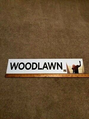 2015 Woodlawn  5x25 Large Movie Theater Mylar Single-sided