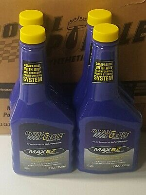 Royal Purple 01326 Max-EZ Power Steering Fluid - 12oz. - 4 Pack