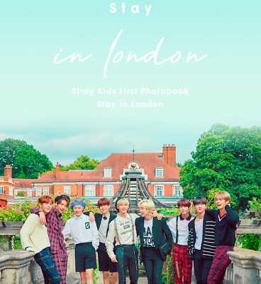(PreOrder) Stray Kids - [ STAY IN LONDON ] SKZ First Photobook *FreeCustomize