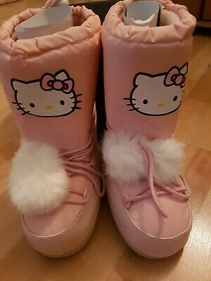MOON BOOTS HELLO Kitty Victoria Couture Taille 34 Neuves